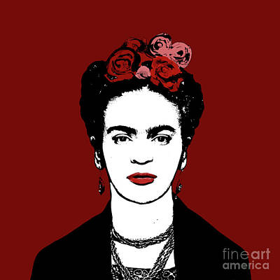 Science Collection - Frida Kahlo by Valentina Hramov