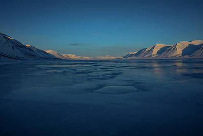 Photograph - Frozen Fjord by Kai Mueller