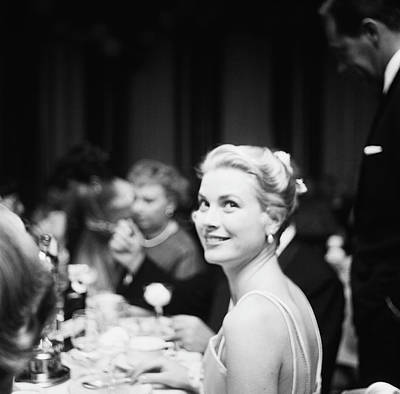 Indoors Photograph - Grace Kelly by Michael Ochs Archives