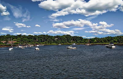 Photograph - Greenwich Bay by Anthony Dezenzio
