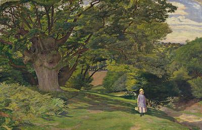 Painting - Hayes Common by William Henry Millais
