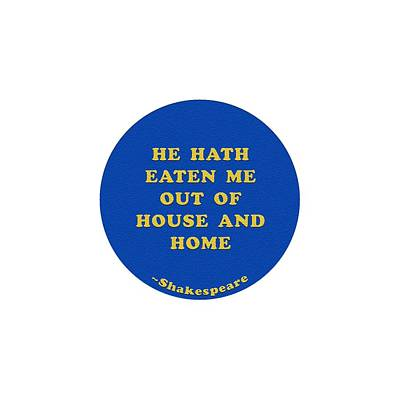 Abstract Stripe Patterns - He hath eaten me out #shakespeare #shakespearequote by TintoDesigns