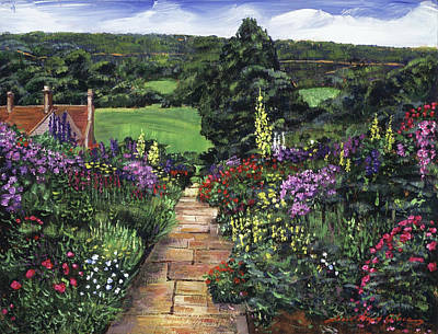 Painting - Impressions Of England by David Lloyd Glover