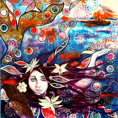 Painting - In The Deep by Jennifer Charton