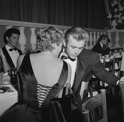 James Dean And Ursula Andress Art Print