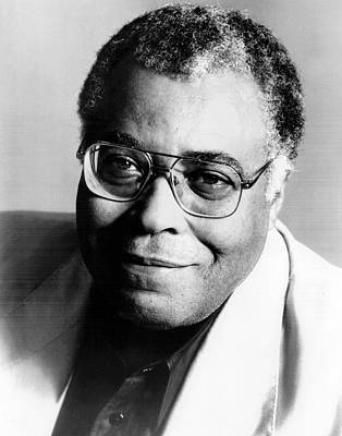 Photograph - James Earl Jones Portrait by Afro Newspaper/gado