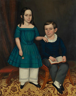 Painting - John And Louisa Stock by Joseph Whiting Stock