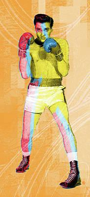 Digital Art - Kid Galahad by Gary Grayson