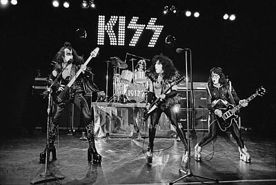 Photograph - Kiss Alive by Fin Costello
