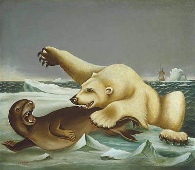 Painting - Law Of The Wild by Charles S Raleigh