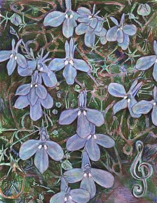 Painting - Lobelia by Jeremy Robinson