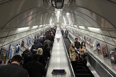 Photograph - London 2012 - London Transport by Dan Kitwood