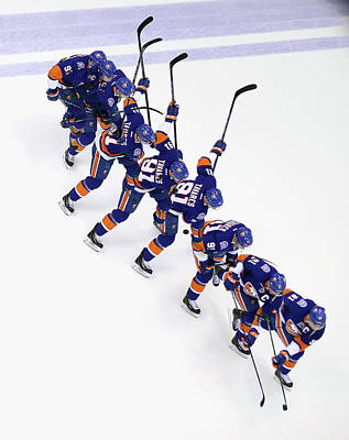 Los Angeles Kings Photograph - Los Angeles Kings V New York Islanders by Bruce Bennett