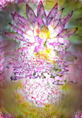 Lovely Lavender - Lotus Flower by Bruce Rolff