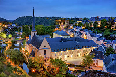 Photograph - Luxembourg City  by Fabrizio Troiani