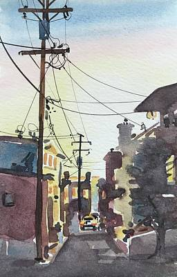 Animal Watercolors Juan Bosco - Manhattan Beach 90266 by Luisa Millicent