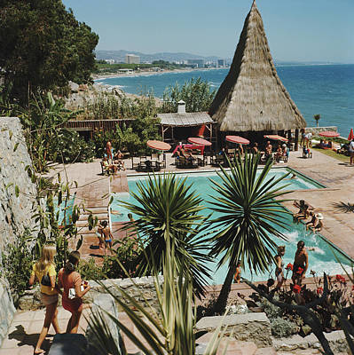 Spain Photograph - Marbella Club by Slim Aarons