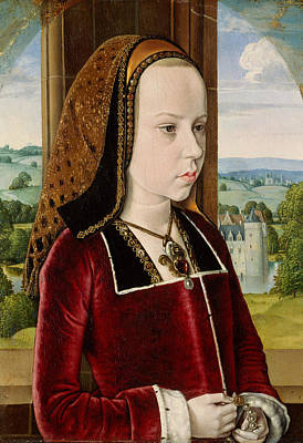 Painting - Margaret Of Austria by Jean Hey