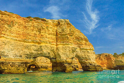 Photograph - Marinha Beach Natual Arch by Benny Marty