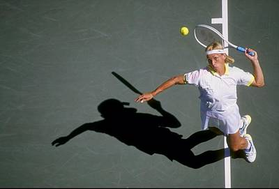 Photograph - Martina Navratilova by Dan Smith