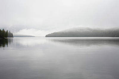 Photograph - Mist On Lake Placid by Nine Ok