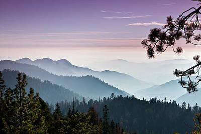 Photograph - Mist On The Sierra Nevada Mountains by Pgiam