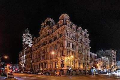 Photograph - Mitchell Building by Randy Scherkenbach