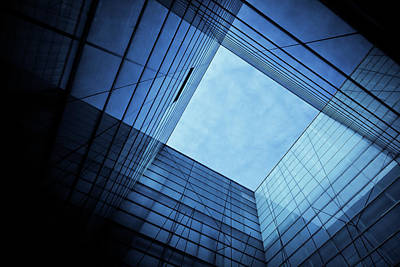Photograph - Modern Glass Architecture by Nikada