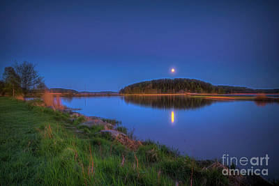 Royalty-Free and Rights-Managed Images - Moonlight by Veikko Suikkanen