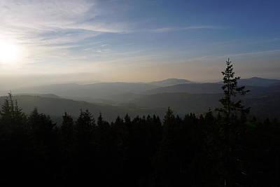 Photograph - Mountain Ridges by Joanna Machel