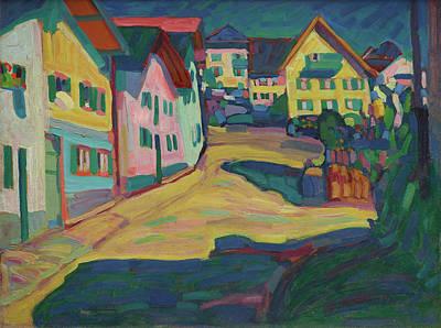 Kandinsky Wall Art - Painting - Murnau, Burggrabenstrasse 1 by Wassily Kandinsky