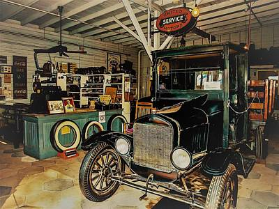 Photograph - My Garage by Randy Sylvia