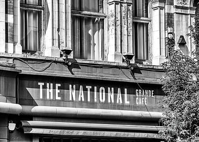 Photograph - National Grande Cafe by Jim Orr