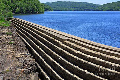 Photograph - New Croton Dam At Croton On Hudson New York by Louise Heusinkveld