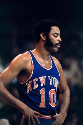 Photograph - New York Knicks Vs. Boston Celtics by Dick Raphael
