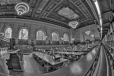 Photograph - New York Public Library Nypl by Susan Candelario