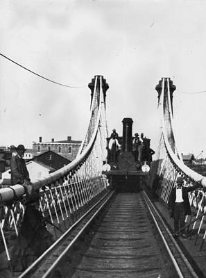 Photograph - Niagara Bridge by William England