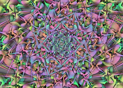 Digital Art - Oger Object Remix Two by Vitaly Mishurovsky