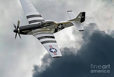 Photograph - P-51 Mustang Fighter Aircraft by Kevin McCarthy