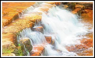 Photograph - Pennsylvania, Waterfall, Stream by A Gurmankin