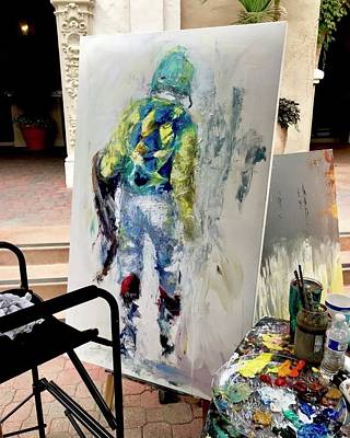 Painting - Phantom Jockey  by Heather Roddy