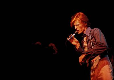 Photograph - Photo Of David Bowie by Steve Morley