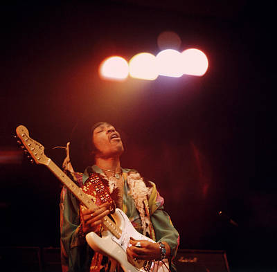 England Photograph - Photo Of Jimi Hendrix by David Redfern