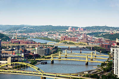 Exterior Photograph - Pittsburgh by Jan Tyler