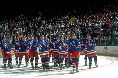 Photograph - Pittsburgh Penguins V New York Rangers by B Bennett