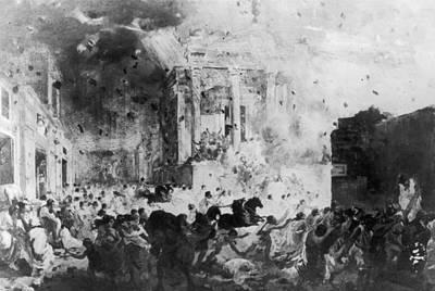 Pompeii Art Print by Hulton Archive