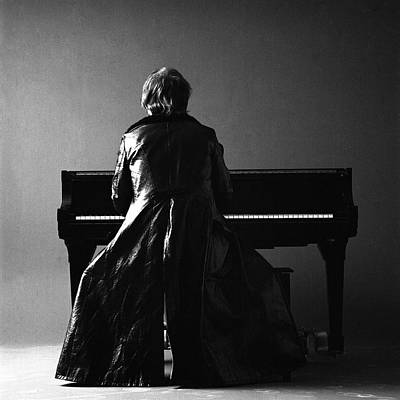 Clothing Photograph - Portrait Of Elton John by Jack Robinson