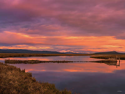 Photograph - Red Rock Lakes by Leland D Howard