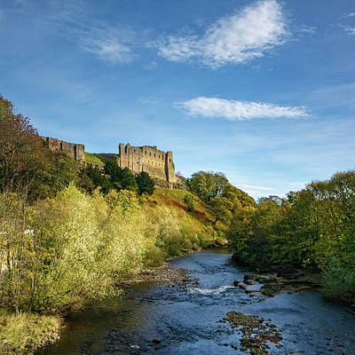 Fantasy Mixed Media - Richmond Castle by Smart Aviation