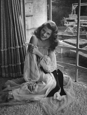 Photograph - Rita Hayworth by Bob Landry